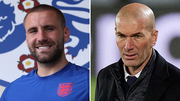 Chỉ cần 4 phút, Shaw có nhiều kiến tạo hơn Zidane trong 14 trận tại EURO