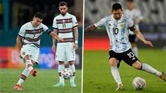 Ronaldo vs Messi - Ai ghi bàn nhiều hơn ở các giải đấu cấp ĐTQG?