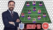HLV Southgate sẽ sử đội đội hình nào cho trận gặp Đan Mạch