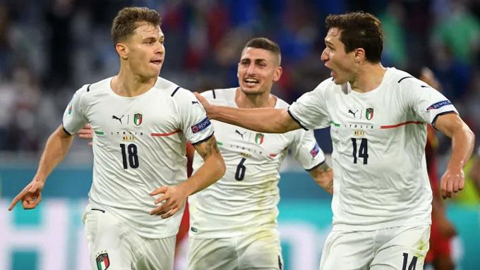 Italia đã có 11 bàn ở EURO 2020