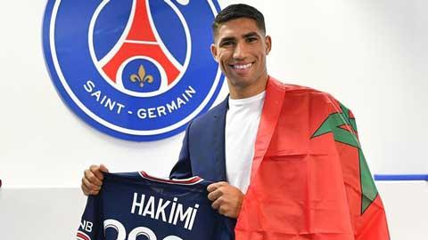 PSG chính thức chiêu mộ Hakimi, đắt giá thứ 3 lịch sử CLB