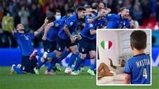Xúc động khi Spinazzola hát quốc ca Italia cùng con trai trên giường bệnh