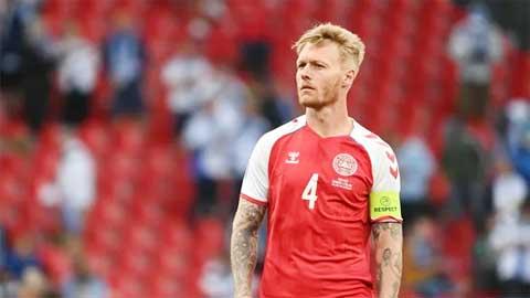 Kjaer, người hùng của bóng đá Đan Mạch