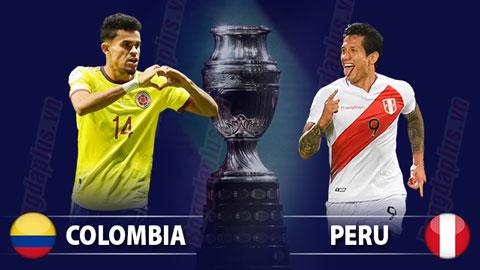 Nhận định bóng đá Colombia vs Peru, 07h00 ngày 10/7: Nụ cười Peru
