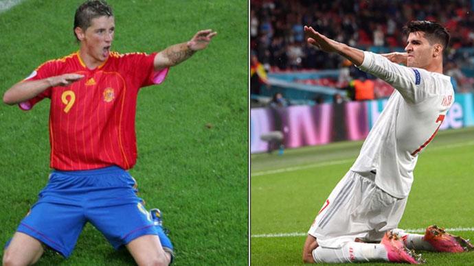 Morata xô đổ kỷ lục của Fernando Torres ở EURO