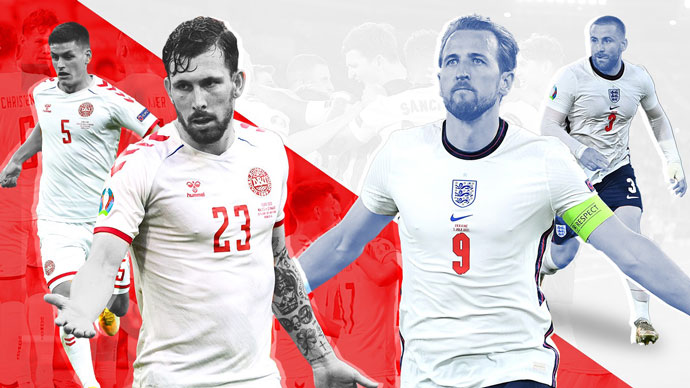 Đánh giá đội hình Anh vs Đan Mạch trước trận bán kết EURO 2020