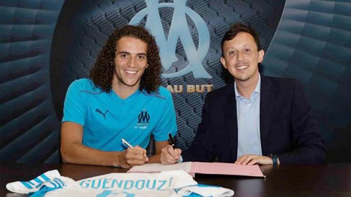 Guendouzi rời Arsenal đầu quân cho Marseille