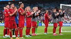 Khoảnh khắc EURO: Cầu thủ Đan Mạch bật khóc, đứng thẫn thờ sau trận thua Anh