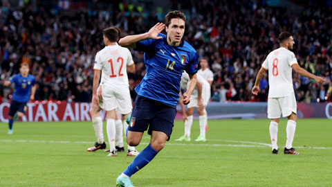 Hãy gọi Federico Chiesa là Mr.Wembley