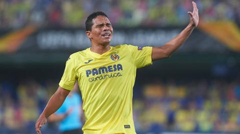 Carlos Bacca chia tay Villarreal sau 4 năm gắn bó