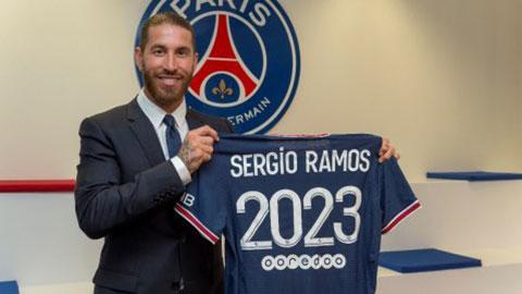 PSG chiêu mộ thành công Sergio Ramos