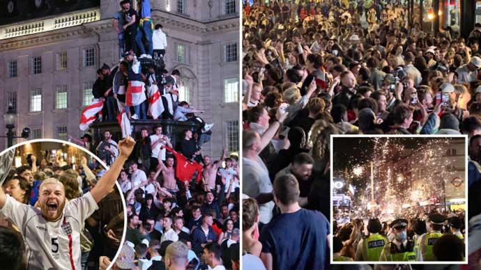 Cộng đồng mạng bùng nổ, fan Tam sư phát cuồng sau trận Anh vs Đan Mạch