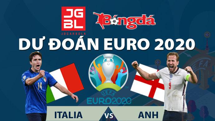 Dự đoán chung kết EURO 2020 trúng thưởng: Italia vs Anh