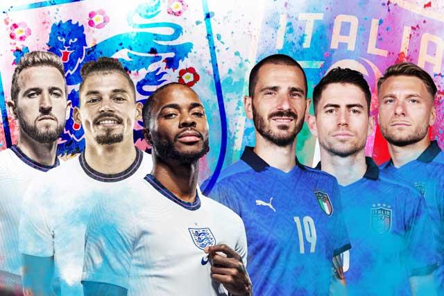 Cả Anh và Italia đều đang rất tự tin hướng đến trận chung kết