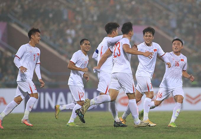 U23 Việt Nam đang có sự đồng đều và nhiều nhân tố chất lượng - Ảnh: Phan Tùng