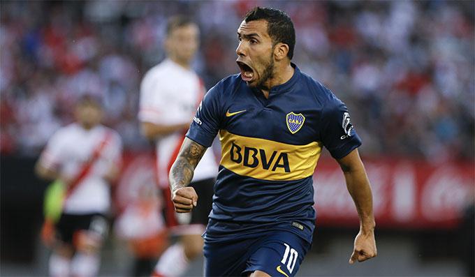 Tevez đang là cầu thủ tự do