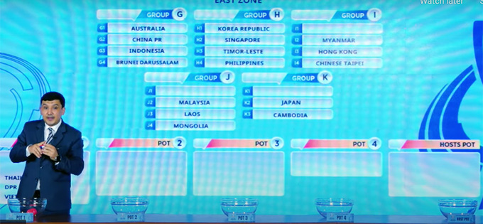 U23 Việt Nam thực tế đã ở rất sát khả năng phải cùng bảng với U23 Nhật Bản