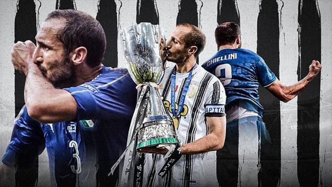 Chiellini đã giành rất nhiều vinh quang cùng Juventus nhưng chưa có chiếc cúp nào cùng ĐT Italia