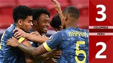 Colombia vs Peru: 3-2 (Tranh hạng 3 Copa America 2021)