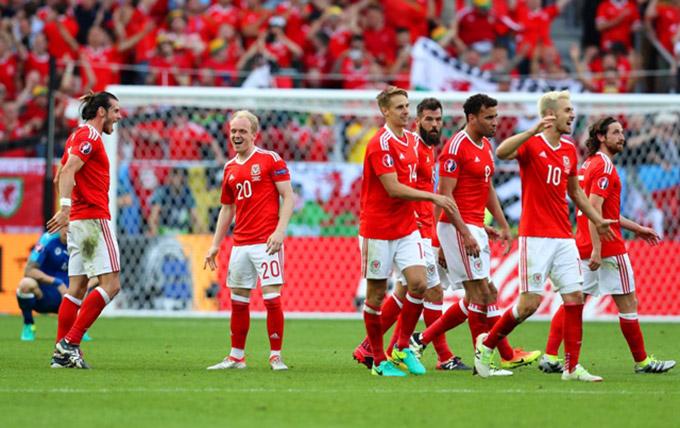 Wales là đội bóng phải di chuyển rất nhiều tại EURO 2020
