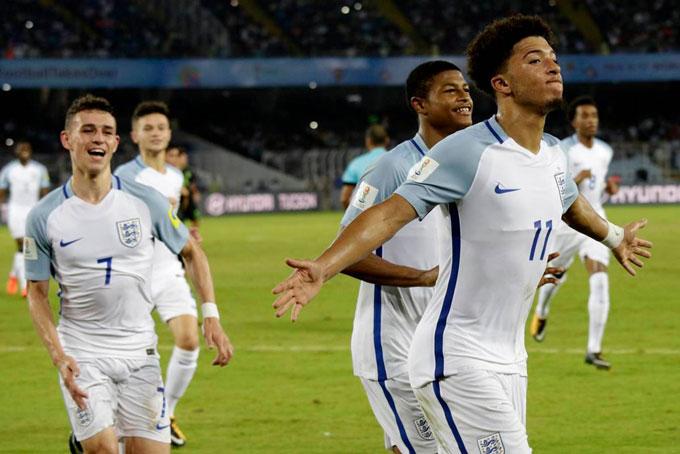 Souhtgate đã xây dựng ĐT Anh từ các lứa trẻ như Foden và Sancho, những người từng vô địch U17 thế giới