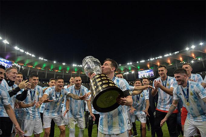 Argentina đã chấm dứt cơn khát danh hiệu kéo dài gần 3 thập kỷ