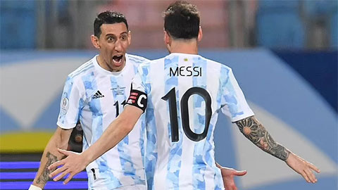 Messi gửi lời cảm ơn đến ai sau khi ĐT Argentina vô địch Copa America 2021?