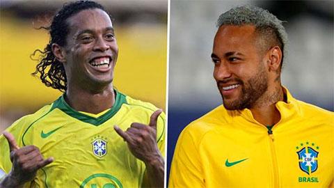 Ronaldinho làm nức lòng Neymar trước thềm chung kết Copa America 2021