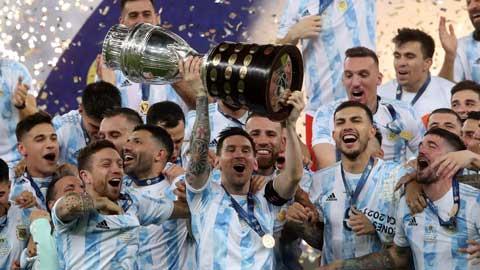 Argentina vô địch Copa America: Nụ cười Messi, nước mắt Neymar và những đôi chân rướm máu