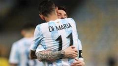 Sau 13 năm, Di Maria lại mang danh hiệu về cho Messi bằng 1 cú lốp bóng