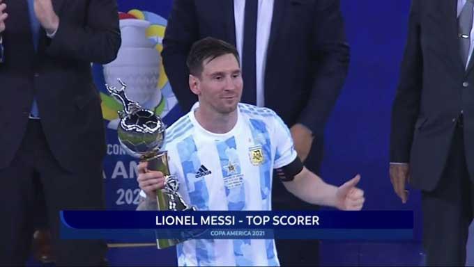 Messi giành ngôi vua phá lưới