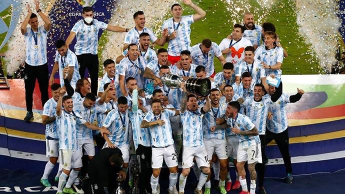 Hành trình Argentina vô địch Copa America 2021