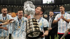 Messi vượt Ronaldo về số danh hiệu trong sự nghiệp