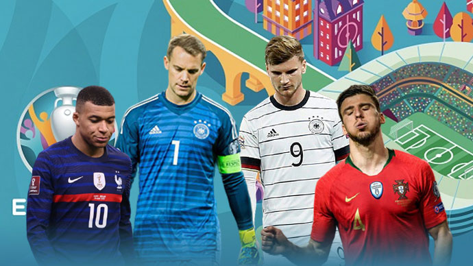 Đội hình tệ nhất EURO 2020: Mbappe, Fernandes, Werner gây thất vọng