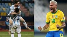 10 bàn thắng đẹp nhất Copa America 2021: Messi, Neymar thi nhau tạo siêu phẩm