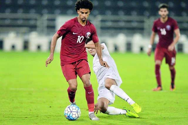 Qatar (dark shirt) is in very high form when winning the last 7/8 matches