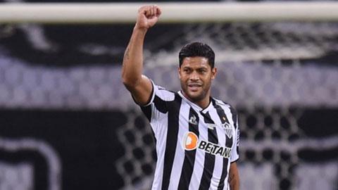 Tiền đạo lão tướng Hulk sẽ ghi bàn giúp Atletico Mineiro vượt qua chủ nhà Boca Junior