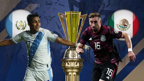 Nhận định bóng đá Mexico vs Guatemala, 08h30 ngày 15/7: Chiến thắng đầu tay