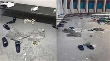 Choáng với phòng thay đồ ngập tràn rác của ĐT Italia sau chung kết EURO