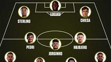 Đội hình tiêu biểu EURO 2020: Ronaldo bị đá bay
