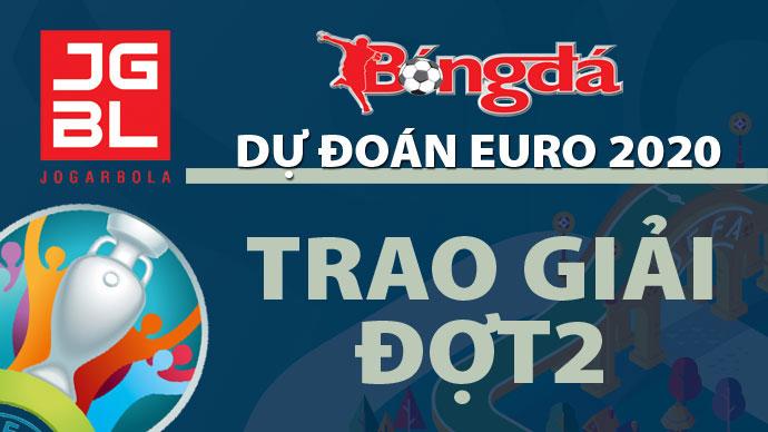 Tổng kết và trao giải đợt 2 'Dự đoán EURO 2020 trúng thưởng'