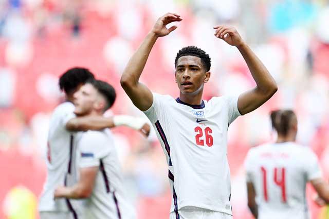 Tiền vệ trẻ tài năng Jude Bellingham chưa có nhiều cơ hội thể hiện tại EURO 2020
