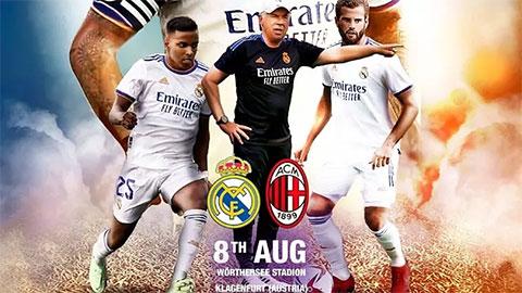 Real Madrid sẽ đá giao hữu với Milan vào tháng tới