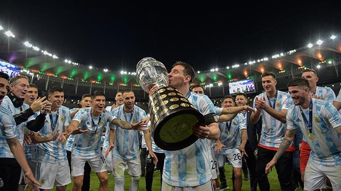 Messi sở hữu mọi thống kê 'đỉnh' ở Copa America 2021, Ronaldo chỉ có Vua phá lưới EURO 2020