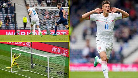 Chiêm ngưỡng lại bàn thắng đẹp nhất EURO 2020 của Patrik Schick