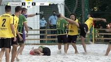Cầu thủ lao vào hỗn chiến kinh hoàng trên sân ở Bồ Đào Nha