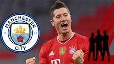 Điểm tin chuyển nhượng 15/7: Man City quyết mua sớm Lewandowski