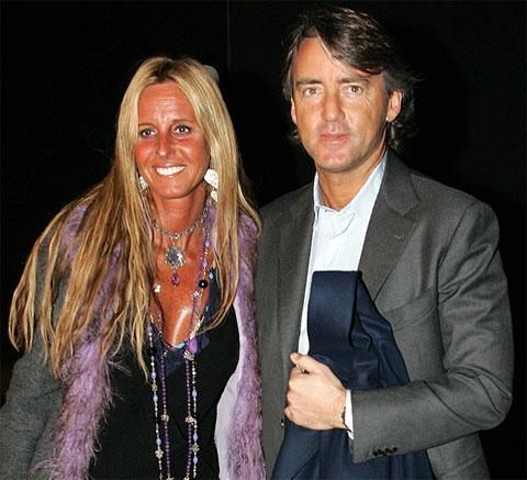 Cuộc hôn nhân giữa Mancini và Federica  khép lại sau 25 năm