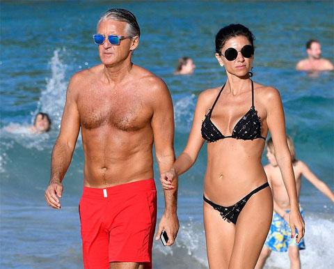 Mancini đang hạnh phúc bên Silvia