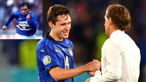 Mancini và cái duyên với bố con nhà Chiesa